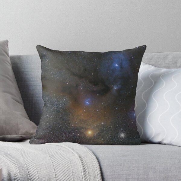 Antares and Rho Ophiuchi region nebulae Throw Pillow