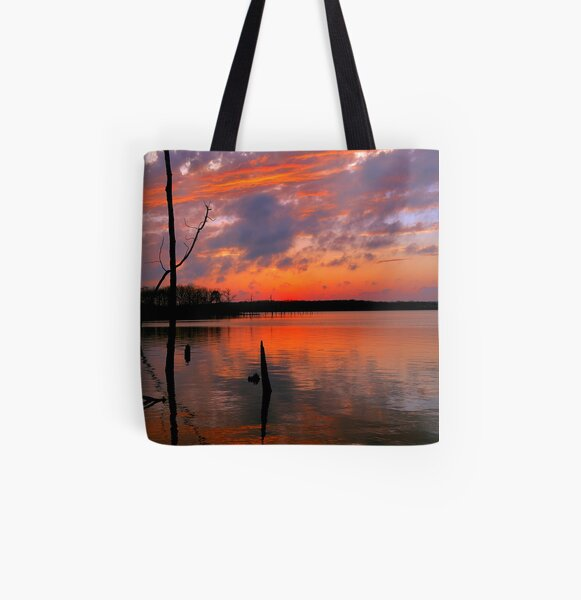 Reflection of  Color All Over Print Tote Bag