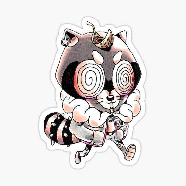 Troublesome Tanooki  Sticker