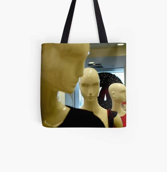 Aliens All Over Print Tote Bag