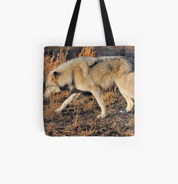 Ahote the Wolf Hybrid All Over Print Tote Bag