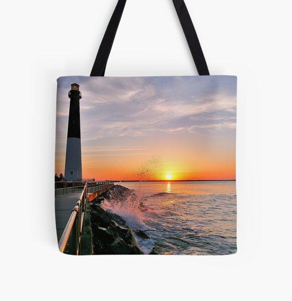 Barnegat Light All Over Print Tote Bag