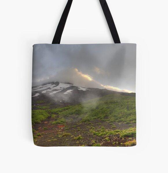 Mount Fuji All Over Print Tote Bag