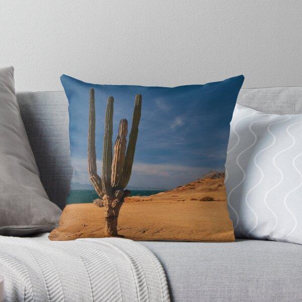 Cactus Row Throw Pillow