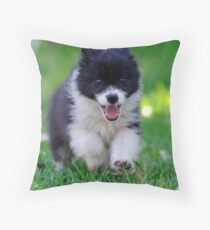 Wheeee! Throw Pillow
