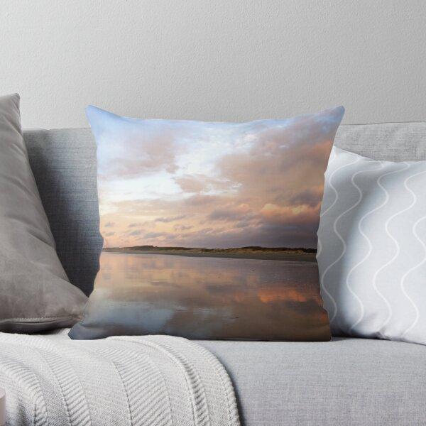 Moving Toward Serenity Throw Pillow
