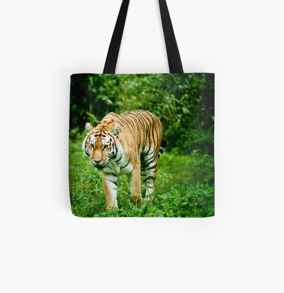 Bengal Tiger All Over Print Tote Bag