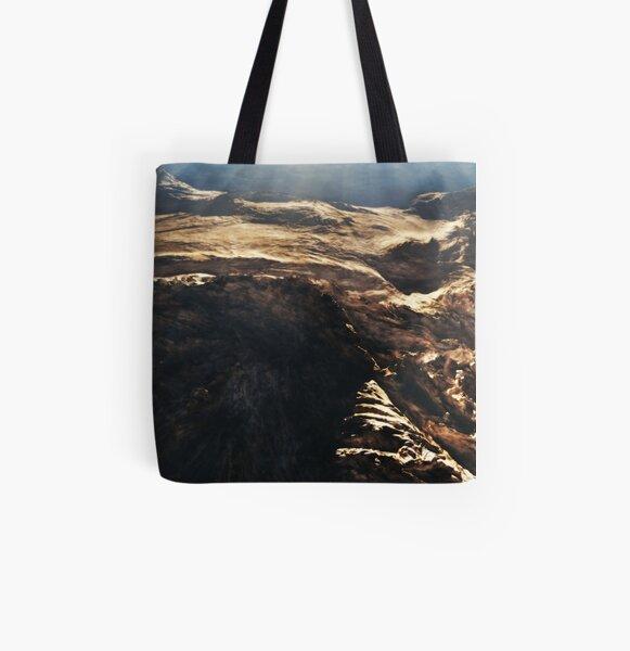Strange Attractor All Over Print Tote Bag