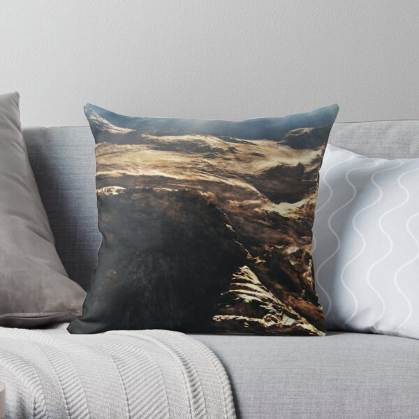 Strange Attractor Throw Pillow