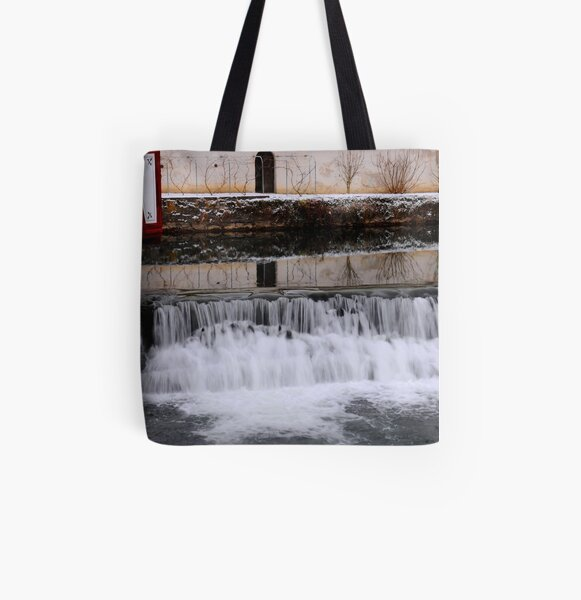 Water Dance All Over Print Tote Bag