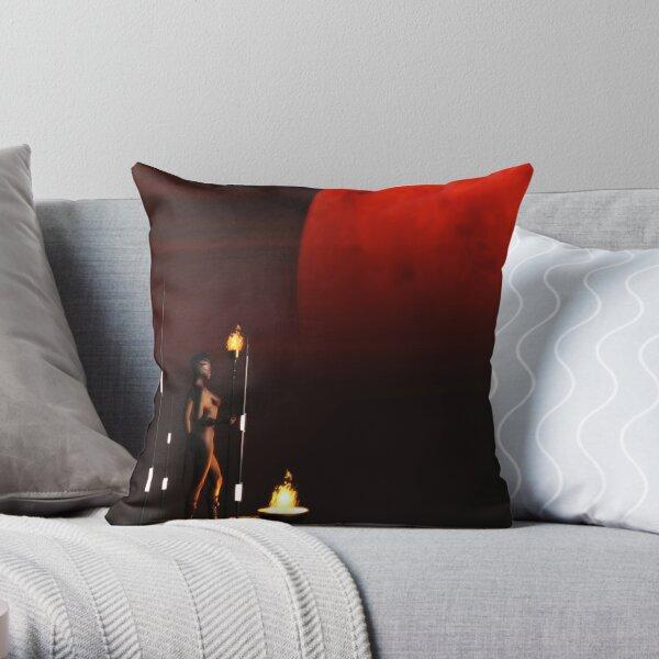 RedMoon Throw Pillow