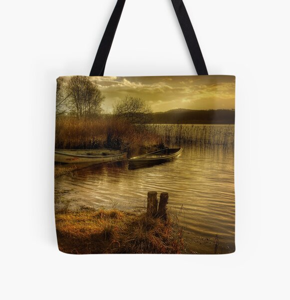The Boats All Over Print Tote Bag