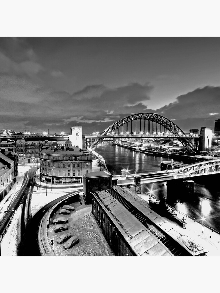 Newcastle Quayside - a winters morn by tontoshorse