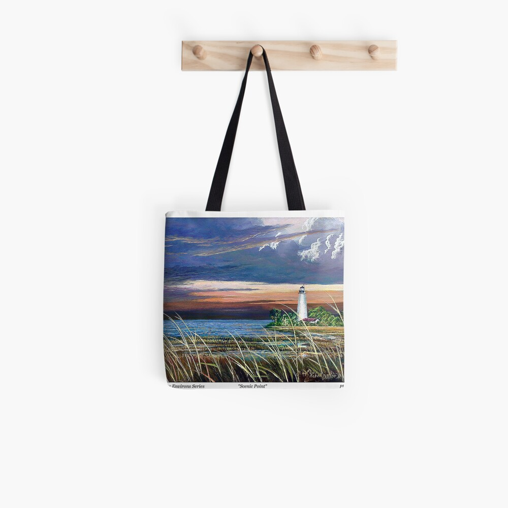 Scenic Point - St. Marks Light Tote Bag