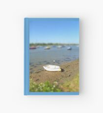 Lonely Boat Hardcover Journal