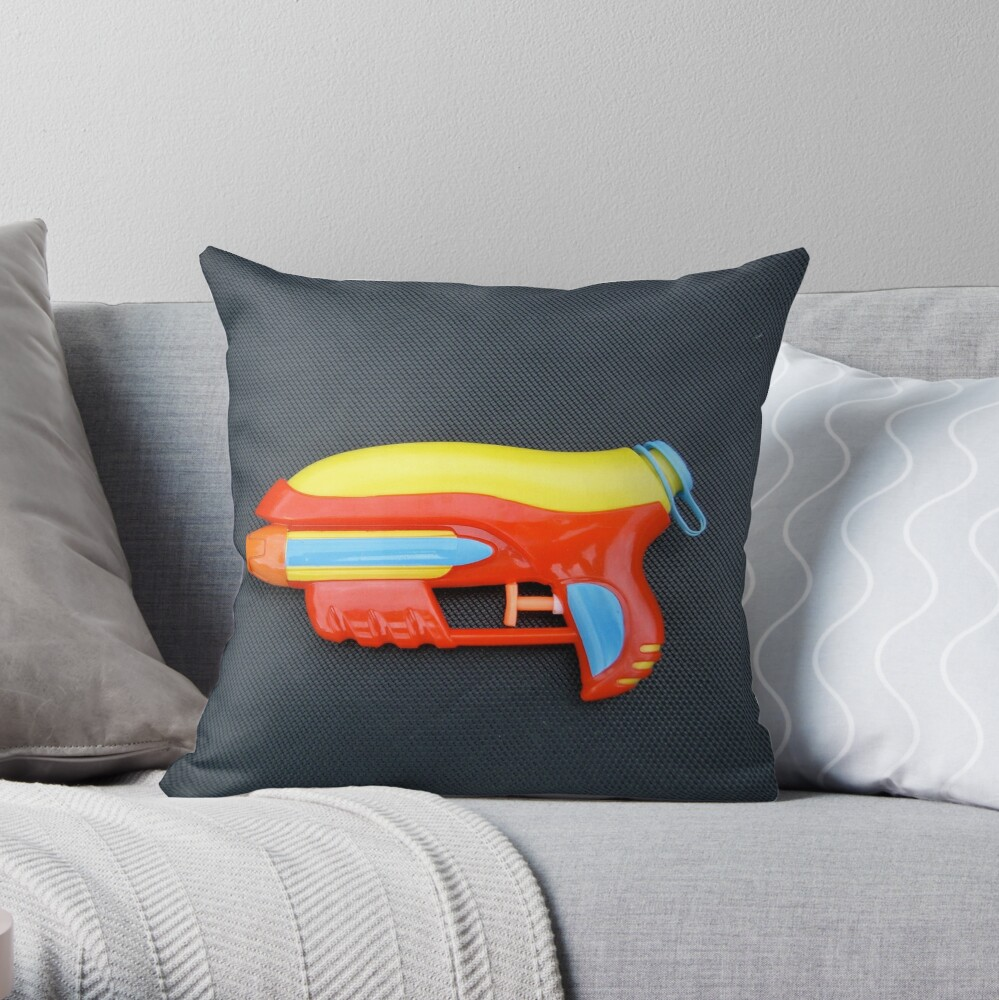 Water Phaser Throw Pillow