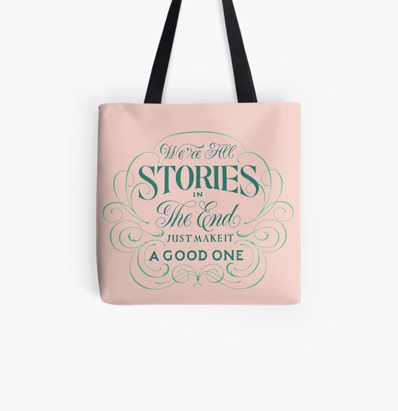 We're All Stories All Over Print Tote Bag