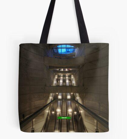 going underground Tote Bag