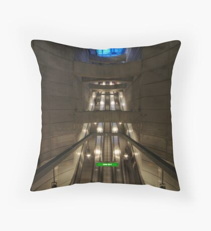 going underground Throw Pillow