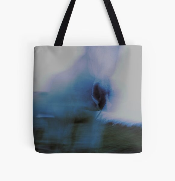 Ghost horse All Over Print Tote Bag