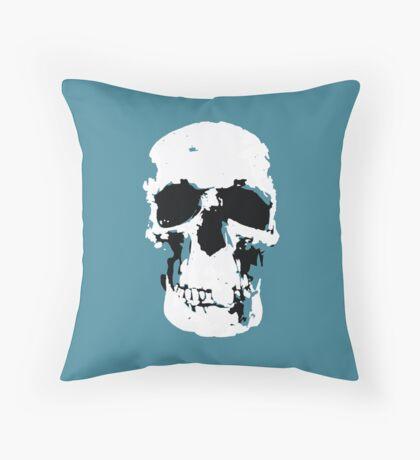 Sherlock Skull Wall Hanging Throw Pillow