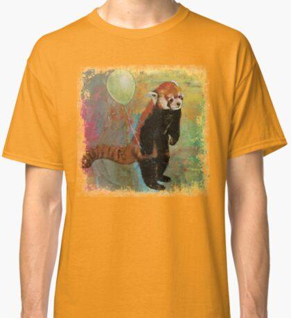 Red Panda Balloon Classic T-Shirt