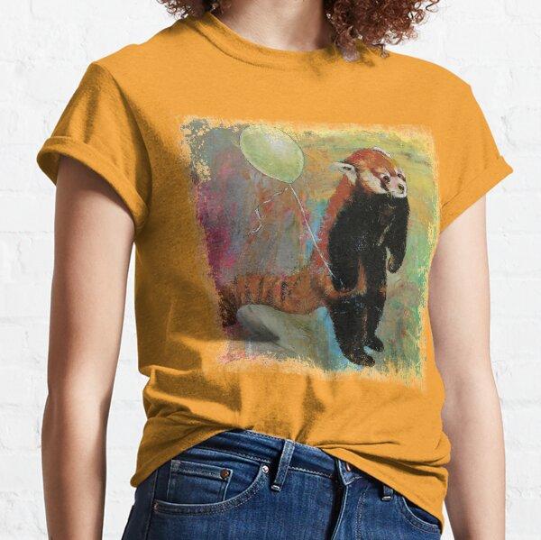 Ballon Panda rouge T-shirt classique