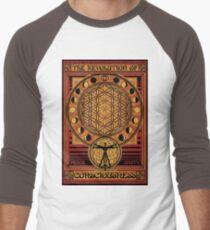 The Revolution of Consciousness | Vintage Propaganda Poster Men's Baseball ¾ T-Shirt