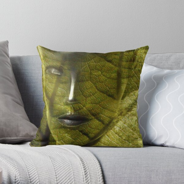 Snakewomen (from my exhibition) Throw Pillow