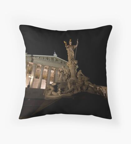 The Seat of Power Throw Pillow
