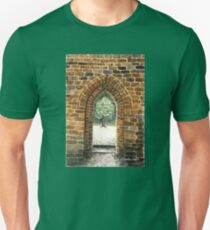Castles were built a stone at a time Unisex T-Shirt
