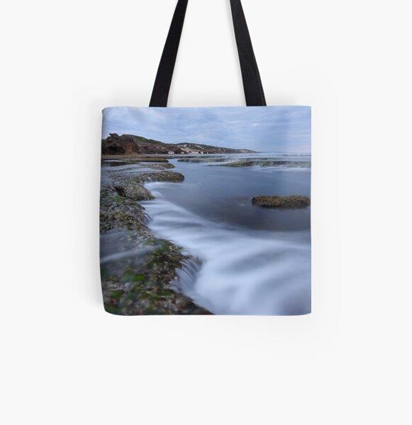 Montforts Beach All Over Print Tote Bag