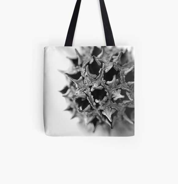 Sweet Gum Ball All Over Print Tote Bag