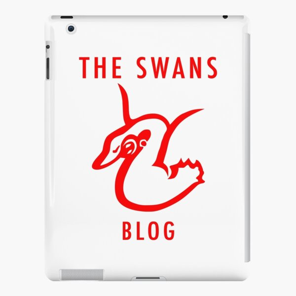 The Swans Blog (red) iPad Snap Case