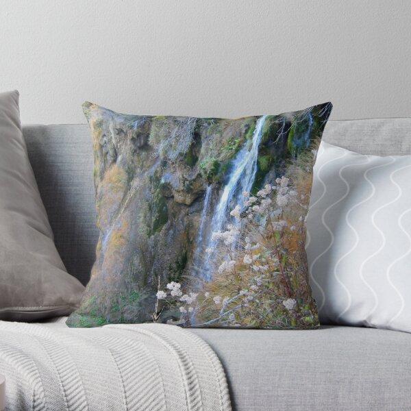 Romantic Waterfalls Throw Pillow