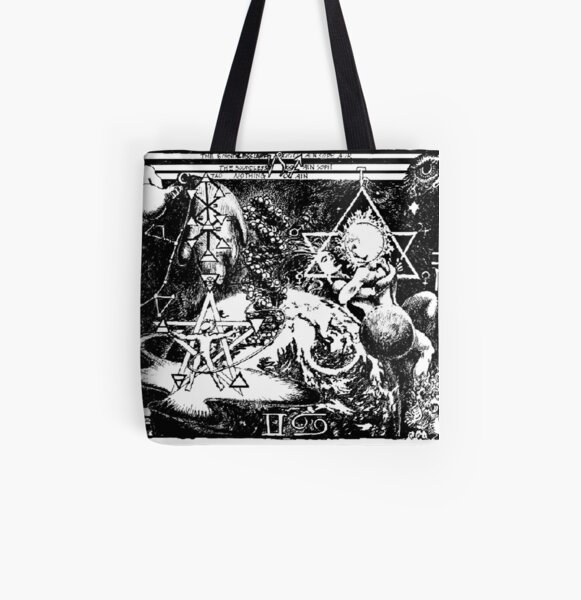 1992 Kabballah and Ain Soph Aur All Over Print Tote Bag