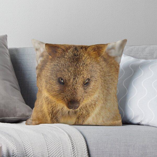 Quokka ~ Rottnest Island  Throw Pillow