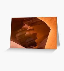 Antelope Canyon 003 Greeting Card