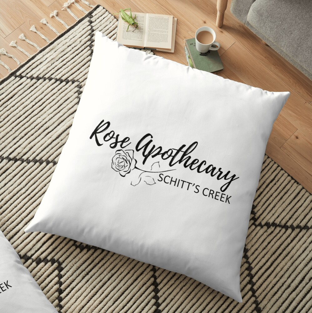 Rose Apothecary  Floor Pillow