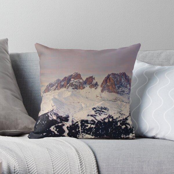 Il Sassolungo Throw Pillow
