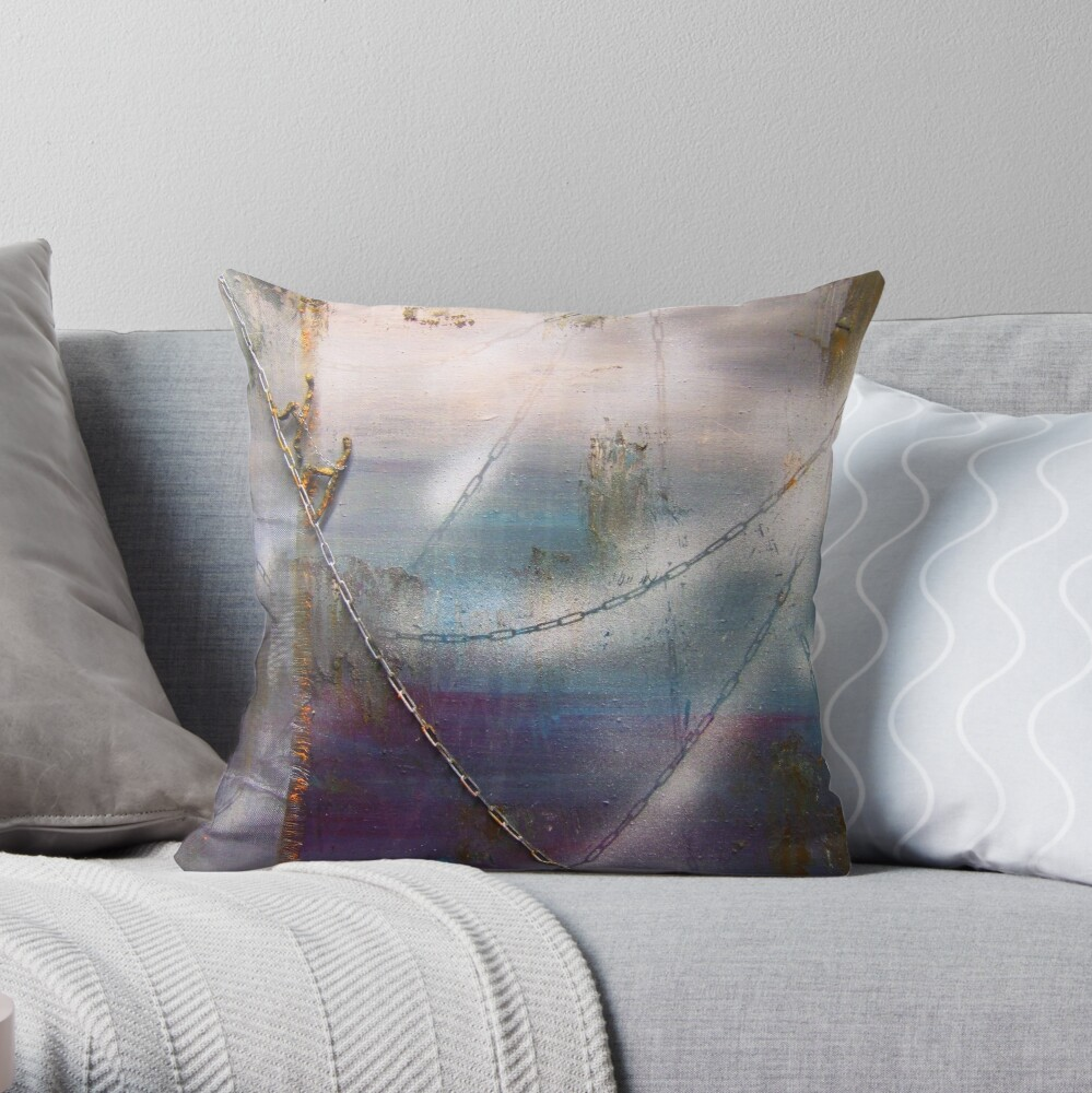 The roped party Throw Pillow