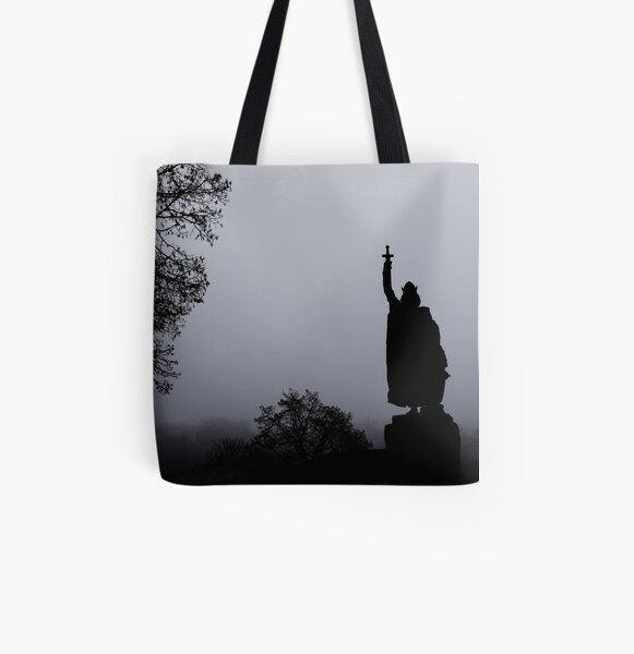 King of the Fog All Over Print Tote Bag