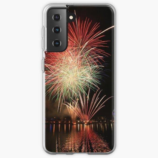 Docklands fireworks Samsung Galaxy Soft Case