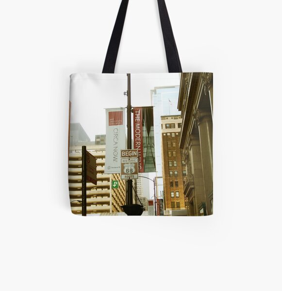 Route 66 Continued All Over Print Tote Bag