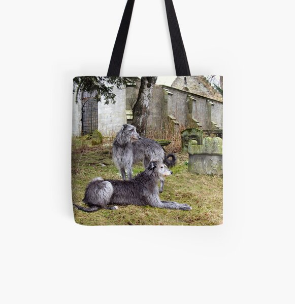 deerhound song All Over Print Tote Bag