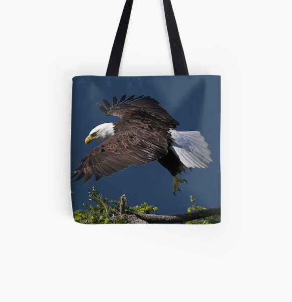 Graceful Manoeuvres All Over Print Tote Bag