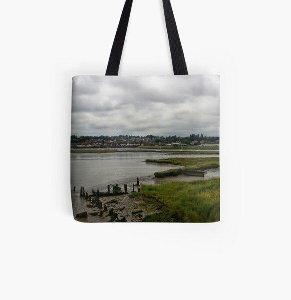 Manningtree Broad All Over Print Tote Bag