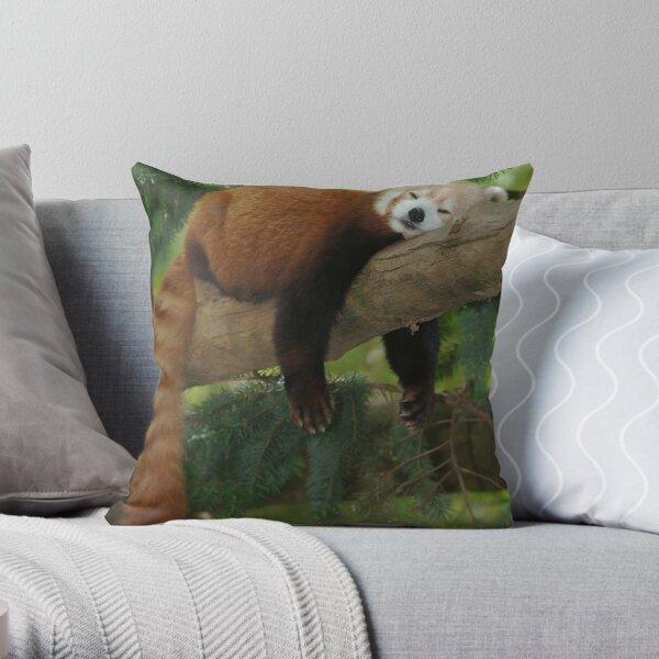 Red Panda 1 Throw Pillow