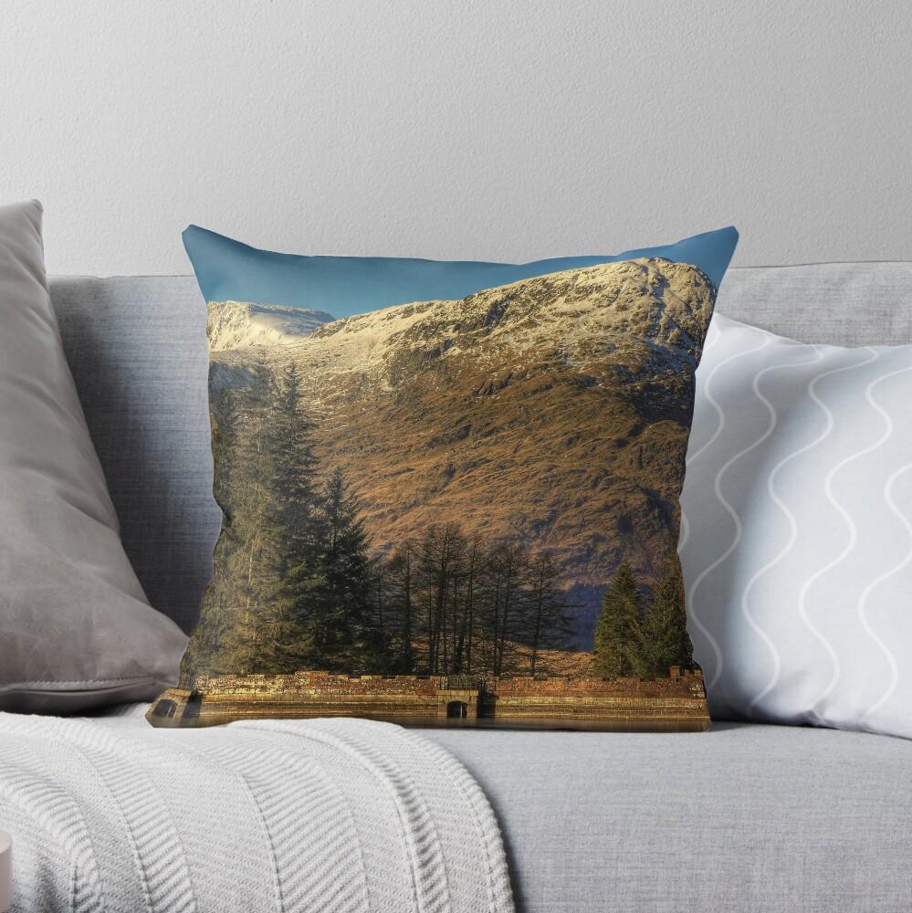 Arrochar Alps Throw Pillow