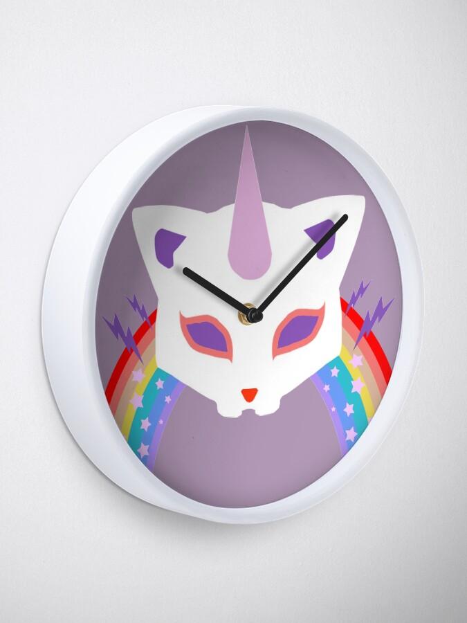 Alternative Ansicht von Kitty Abschnitt Rainbow Miraculous Ladybug Uhr